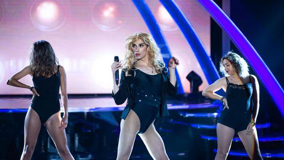 Sabin a dansat din nou pe tocuri: a fost travestit, incercand sa o imite pe Beyonce! Ce au spus jurati despre prestatia lui