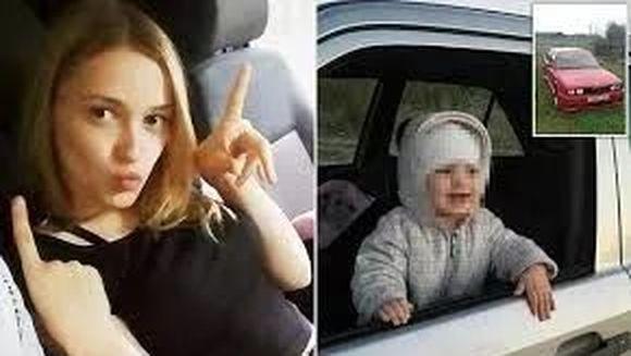 O mamica a fost ucisa de fetita ei. Accidental, copila i-a prins mamei sale capul in fereastra masinii