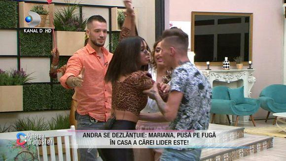 Andra a sarit sa sa o BATA pe Mariana! Reactia dura a lui Bogdan Mocanu: ''Ai crescut pe strazi?''