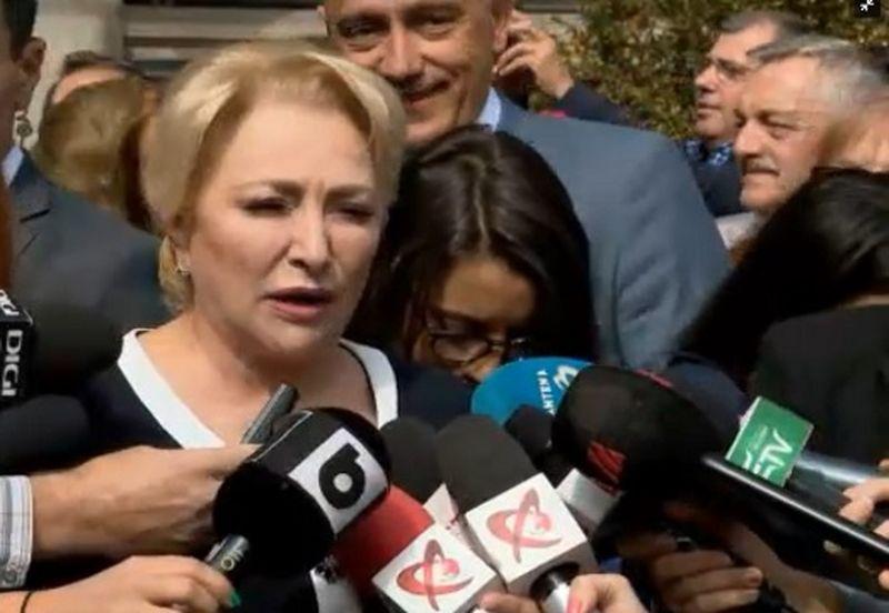 Alegeri prezidențiale 2019. Viorica Dăncilă și-a depus candidatura
