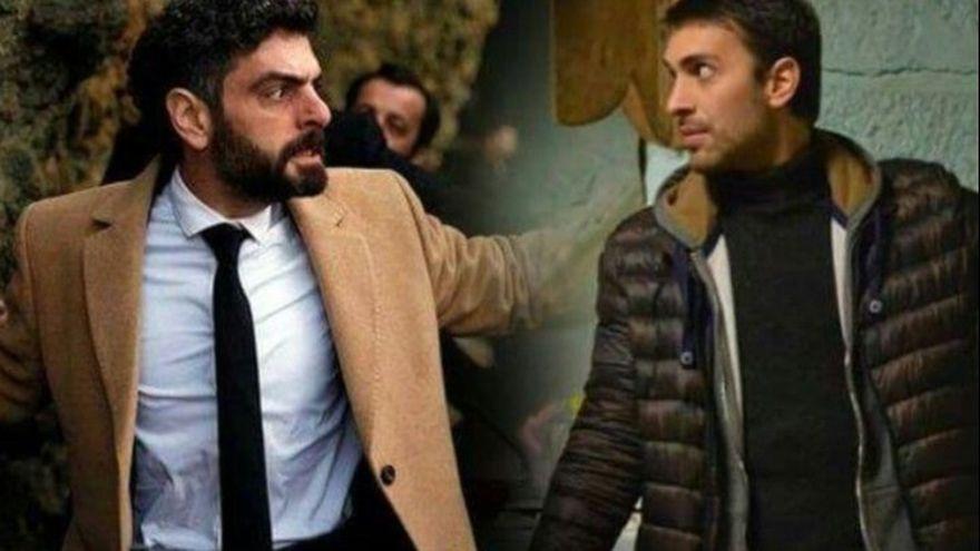 """Tahir si Vedat, cei mai aprigi dusmani in serialul """"Lacrimi la Marea Neagra"""", dar buni prieteni in realitate! Iata cum au fost surprinsi cei doi actori in afara platourilor de filmare!"""