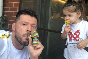 """Victor Slav este topit dupa fiica sa! Prezentatorul Kanal D povesteste despre abilitatile artistice ale fiicei sale: """"Promite a deveni o mare dansatoare!"""""""
