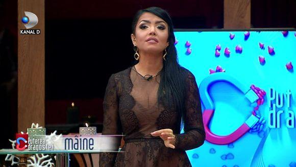"""Rasturnare de situatie in GALA """"Puterea dragostei""""! Se schimba regulamentul emisiunii! Bianca, in pericol de descalificare? Afla care va fi anuntul Andreei Mantea pentru concurenti, ASTAZI, de la ora 16:00 si 19:00, la Kanal D!"""