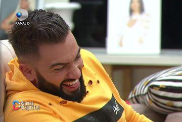 Paula, moment uluitor de striptease pentru Andy! Iata cum si-a unduit formele voluptoase si cum a reactionat concurentul! Cine i-a privit din umbra?