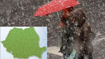 Prognoza meteo azi, 3 octombrie 2019. Se raceste brusc, vin ploile si ninsorile