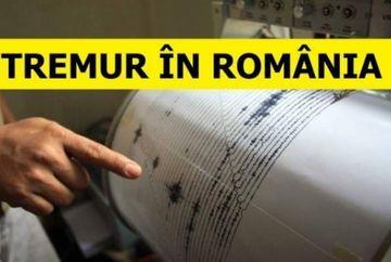 Cutremur azi-noapte în România! Ce magnitudine a avut