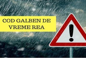Vremea în weekend 4-6 octombrie 2019. Alerta meteo de ploi, vant puternic si racire accentuata