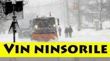 Alerta meteo: vin ninsorile! Vreme rece in toata tara, ploi, lapovita si ninsoare