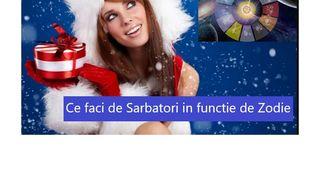 Horoscop: Ce faci de Sarbatori in functie de ZODIE. Pestii au pregatit deja lista de cadouri
