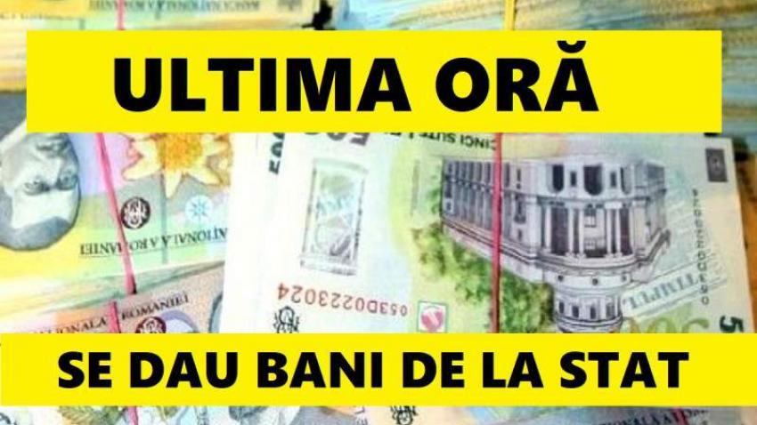 Bani de la stat! E oficial: sute de mii de romani vor avea banii din 16 octombrie
