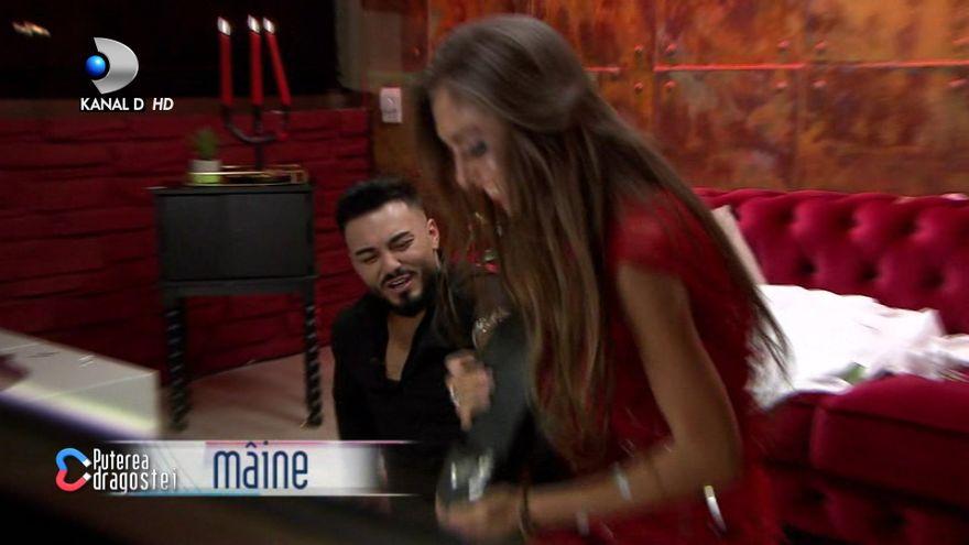 """Jador si Mariana, pregatiri de nunta? Iata cum au fost surprinsi cei doi in camera rosie si cum a reactionat Jador, JOI, intr-o editie de senzatie """"Puterea dragostei"""", de la ora 11:00 si 17:00, la Kanal D!"""