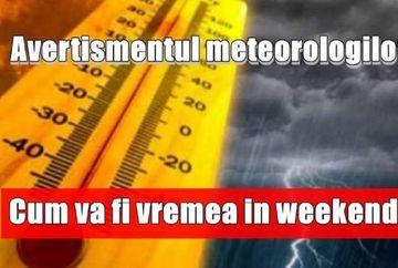 Vremea in weekend: de la 25, la -5 grade Celsius! ANM a facut anuntul despre toata luna octombrie