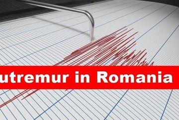 Cutremur în România, la ora 03:30! Ce magnitudine a avut