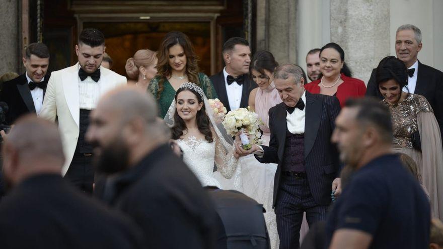 Cati bani a castigat fiica lui Gigi Becali la nunta: suma este uriasa!