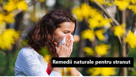 Remedii strănut. Metode naturale care chiar funcționează