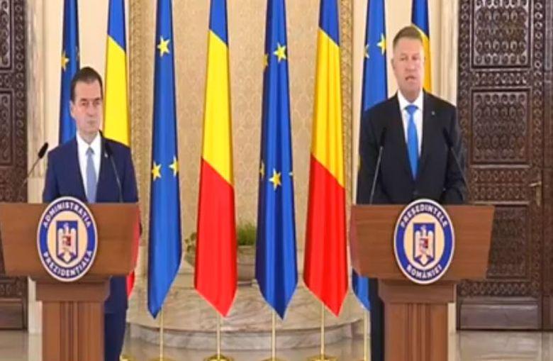 ULTIMA ORĂ Ludovic Orban, desemnat premier de președintele Iohannis! Primele declarații după anunț