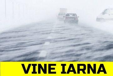 S-a schimbat prognoza! Vine iarna mai devreme in Romania? Ce spun meteorologii