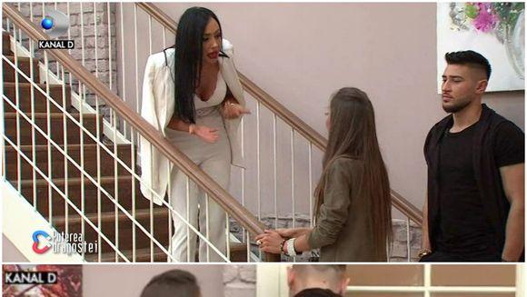 """Scandal monstru la """"Puterea dragostei"""" între Ella și Mariana! Prins la mijloc, Mocanu a fost luat la palme de Mariana! Imagini incredibile"""