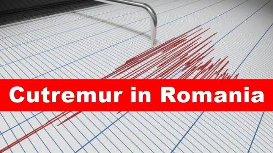 Două cutremure s-au produs astăzi în România! Seismele, la mică distanță unul de celălalt! Ce magnitudini au avut