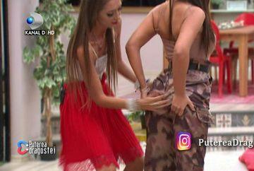 """Scene incredibile la """"Puterea dragostei"""". Mariana a pipăit-o pe Andra și i-a dat palme la fund! Ce a urmat întrece orice imaginație"""