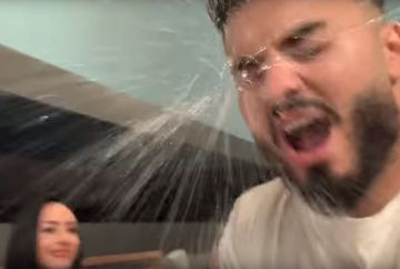 Scene halucinante cu Jador și Ella! El a înjurat-o, ea l-a lovit și i-a aruncat o sticlă de apă în față! Momentul a fost filmat! Imagini incredibile