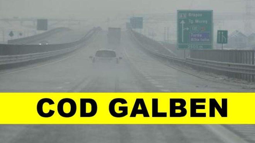Prognoza meteo. Vremea in weekend 25-27 octombrie: ANM Cod Galben