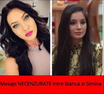 Razboi TOTAL intre Bianca si Simina! Mesaje incredibile au fost facute publice: ''Esti gravida si ii *** lui Jador...''