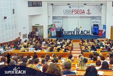 Zilele SuperTeach:cel mai mare eveniment din România dedicat profesorilor,găzduit de Cluj-Napoca