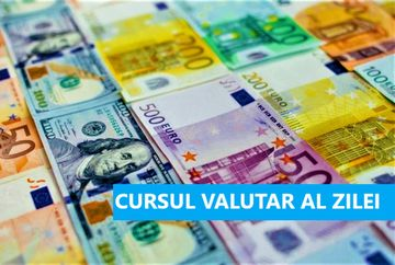 Curs valutar 25 octombrie BNR. Ce valori au in weekend principalele monede