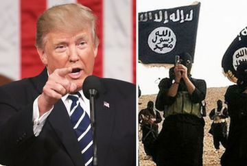 Seful ISIS a murit ca un las ucigandu-si trei copii. Declaratiile presedintelui Donald Trump