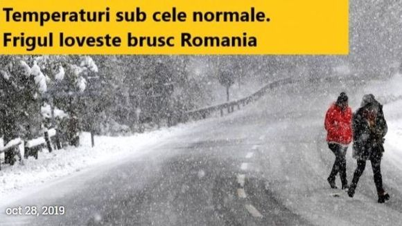 Prognoza meteo pe 7 zile. Vremea la Bucuresti si in tara: se raceste foarte tare