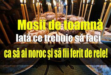 Moşii de Toamnă 2019 sau Sâmbătă Morților. Cum se face pomenirea la biserica