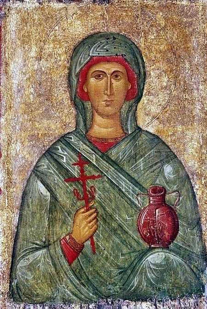 Sfânta Cuvioasă Muceniță Anastasia Romana