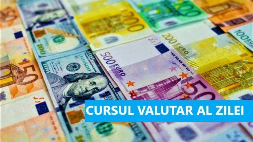 Curs valutar 29 octombrie. La cat a ajuns astazi un euro