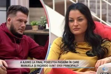 """Ricardo a anunțat oficial despărțirea de Manuela! Ce reacție a avut ea. Concurenții au detonat bomba: """"I-a trecut de când a intrat Roxana în casă"""""""