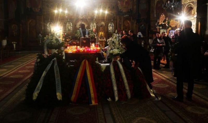 Inmormantarea lui Mihai Constantinescu