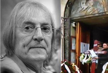 Mihai Constantinescu a fost înmormântat! Imagini de la funeraliile marelui cântăreț