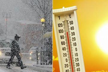 Prognoza meteo. Vine CALDURA! Val de aer tropical loveste Romania si vom avea 25 de grade