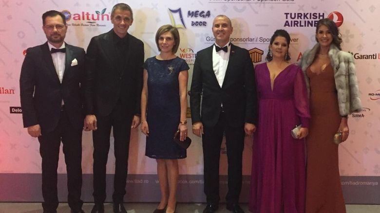 Kanal D, prezent la Balul Asociatiei Oamenilor de Afaceri Turci din Romania