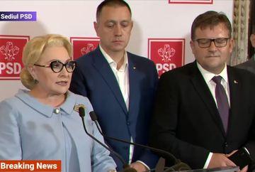 "Viorica Dancila si-a luat ADIO de la guvern: ""Avem un presedinte dictator"""