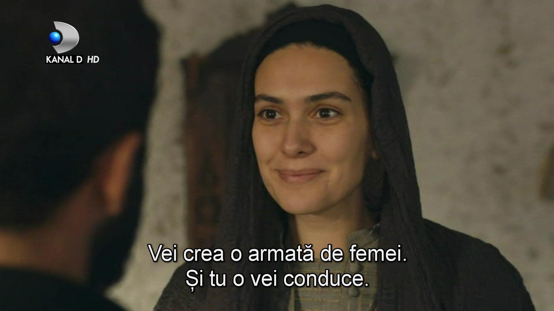 """Azize ia o decizie neasteptata! Va accepta propunerea Caucazianului de a lupta pentru patrie in fruntea armatei de femei? Afla ce se va intampla, ASTAZI, intr-un nou episod din serialul """"Patria mea esti tu"""", de la ora 23:00, la Kanal D!"""