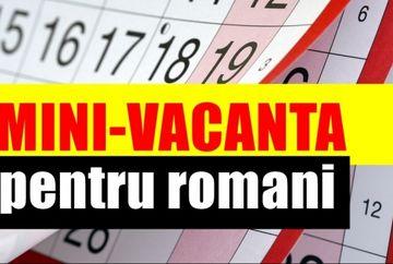 Zile libere 2019. Veste proasta pentru romani: nu se dau libere de Sf. Andrei si de 1 Decembrie