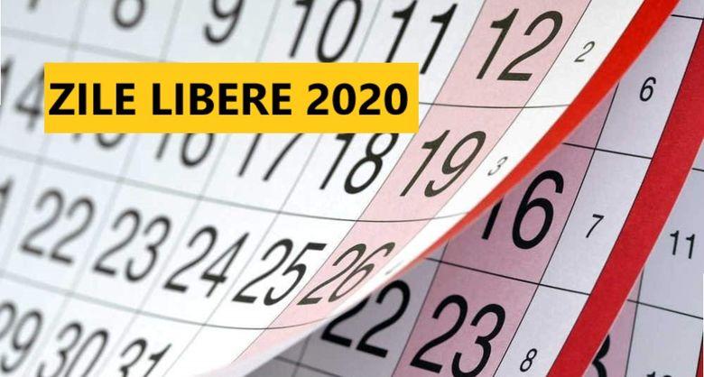 Zile libere 2020: Cate minivacante au romanii in anul urmator