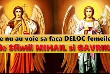 Calendar crestin ortodox 8 noiembrie - Sfintii Mihail si Gavril. Ce este interzis să faci astazi