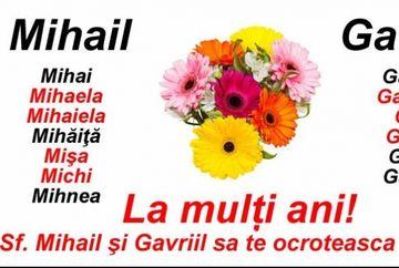 Mesaje de Sfinții Mihail și Gavril. Cele mai frumoase urari si felicitari
