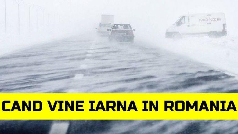 Anunt de ULTIMA ora de la ANM! Vine iarna in Romania!