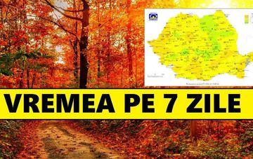 Prognoza meteo pe 7 zile. Vremea 11-17 noiembrie la Bucuresti si in tara. Anuntul ANM