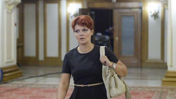 """Umilinta maxima! Lia Olguta Vasilescu a fost data afara. Orban:""""Simt o reala placere sa o demit"""""""