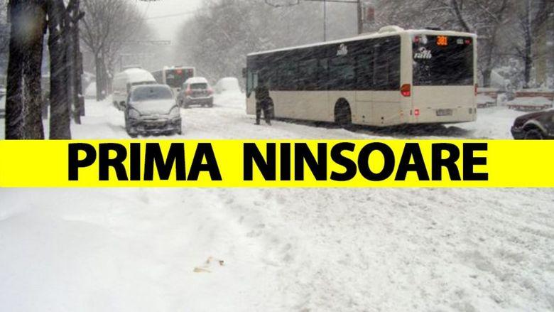 Meteorologii au facut anuntul! Cand NINGE in Romania!