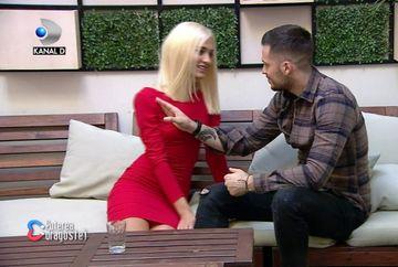 """Livian, socat de aparitia iubitei sale cu o peruca blonda! """"Mai bine iti sta bruneta!"""" Iata cum a reactionat tanarul si ce anume l-a deranjat extrem de tare la vestimentatia Biancai!"""
